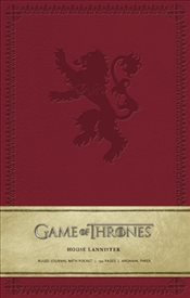 Game of Thrones Ruled Journal: House of Lannister - Insight Editions