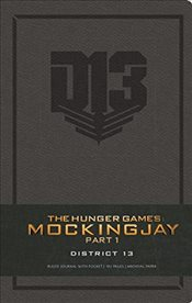 Hunger Games District 13 Ruled Journal - Insight Editions