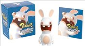 Rabbids: Screaming Rabbid Figurine and Illustrated Book -