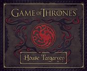 Game of Thrones : House Targaryen Deluxe Stationery Set - Insight Editions