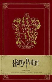 Harry Potter Gryffindor Hardcover Ruled Journal - Insight Editions