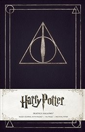 Harry Potter Deathly Hallows Hardcover Ruled Journal - Insight Editions