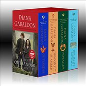 Outlander Boxed Set: Outlander, Dragonfly in Amber, Voyager, Drums of Autumn - Gabaldon, Diana