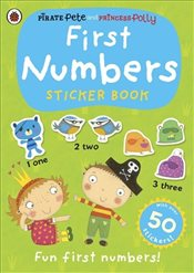 First Numbers: A Pirate Pete and Princess Polly sticker activity book - Ladybird,