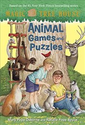 Magic Tree House: Animal Games and Puzzles (Stepping Stone Book(tm)) - Osborne, Mary Pope