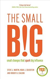 Small BIG : Small Changes that Spark Big Influence - Martin, Steve
