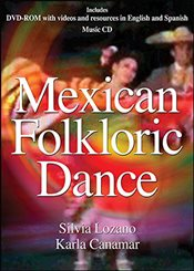 Mexican Folkloric Dance DVD with Music CD - Lozano, Sylvia