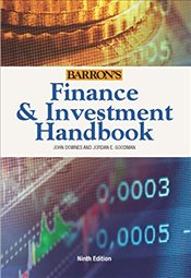 Finance and Investment Handbook 9E - DOWNES, JOHN