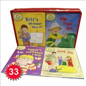 Read with Biff, Chip & Kipper Set Phonics and First Stories 33 Books Collection Level 1-3 - Hunt, Roderick