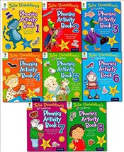 Oxford Reading Tree Julia Donaldsons Songbirds Phonics Activity Collection 8 Books Set - Donaldson, Julia