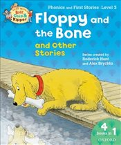 Oxford Reading Tree Read With Biff, Chip, and Kipper: Floppy and the Bone and Other Stories (Level 3 - Hunt, Roderick