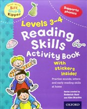 Oxford Reading Tree Read With Biff, Chip, and Kipper: Levels 3-4: Reading Skills Activity Book (Read - Hunt, Roderick