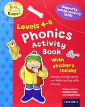 Oxford Reading Tree Read With Biff, Chip, and Kipper: Levels 4-5: Phonics Activity Sticker Book (Rea - Hunt, Roderick