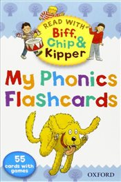 Oxford Reading Tree Read With Biff, Chip, and Kipper: My Phonics Flashcards (Read With Biff Chip & K - Hunt, Roderick
