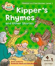 Oxford Reading Tree Read with Biff, Chip and Kipper: Level 1 Phonics and First Stories: Kippers Rhy - Hunt, Roderick