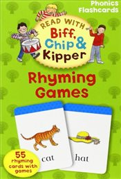 Oxford Reading Tree Read With Biff, Chip, and Kipper: Phonics Flashcards: Rhyming Games (Read With B - Ruttle, Kate