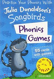 Oxford Reading Tree Songbirds: Phonics Games Flashcards - Donaldson, Julia