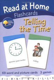 Read at Home: First Skills: Telling the Time Flashcards - Hunt, Roderick