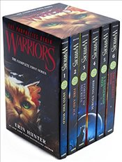 Warriors Box Set: Volumes 1 to 6 - Hunter, Erin