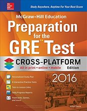 McGraw-Hill Education : Preparation for the GRE Test 2016, Cross-Platform Edition - Geula, Erfun