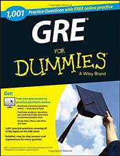 1,001 GRE Practice Questions For Dummies with Free Online Practice - Dummies, Consumer