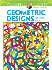 Creative Haven Geometric Designs Collection Coloring Book  -