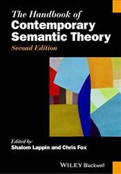Handbook of Contemporary Semantic Theory   - Lappin, Shalom