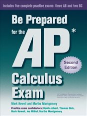 Be Prepared for the AP Calculus Exam - Howell, Mark