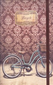 NoteLook - Retro Bicycle Çizgili Defter A5 100yp. -