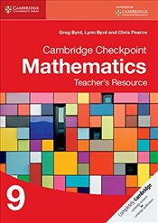 Cambridge Checkpoint Mathematics Teachers Resource 9   - Byrd, Greg