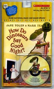 How Do Dinosaurs Say Goodnight? [With Paperback Book] - Yolen, Jane