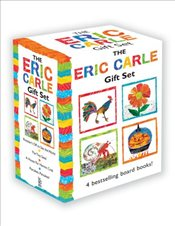 Eric Carle Gift Set: The Tiny Seed; Pancakes, Pancakes!; A House for Hermit Crab; Roosters Off to S - Carle, Eric