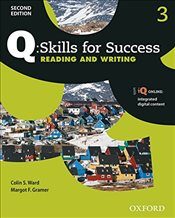 Q Skills for Success Level 3 2e : Reading & Writing Student Book with iQ Online - Ward, Colin
