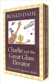 Charlie and the Chocolate Factory and Charlie and the Great Glass Elevator Boxed Set - Dahl, Roald