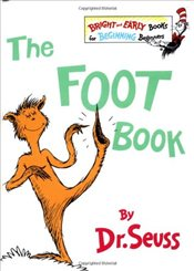 Foot Book (Bright & Early Books for Beginning Beginners) - Seuss, Dr.