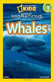 Whales (National Geographic Readers - Level 3) - Marsh, Laura