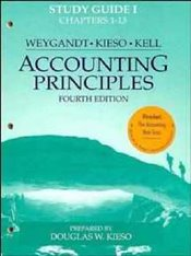 Accounting Principles 4e : Study Guide 1 - Weygandt, Jerry J.