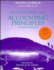 Accounting Principles 4e : Study Guide 2 - Weygandt, Jerry J.