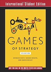 Games of Strategy 4e ISE - Dixit, Avinash K.