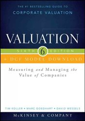 Valuation 6E : DCF Model Download  - Koller, Tim