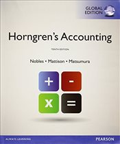 Accounting 10e with MyAccountingLab - Horngren, Charles T.