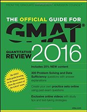 Official Guide for GMAT Quantitative Review 2016 with Online Question Bank and Exclusive Video - GMAC - Graduate Management Admission Council
