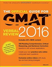 Official Guide for GMAT 2016 Verbal Review with Online Question Bank and Exclusive Video - GMAC - Graduate Management Admission Council