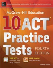 McGraw-Hills 10 ACT Practice Tests 4e - Dulan, Steven