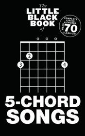 Little Black Book of 5-Chord Songs   -
