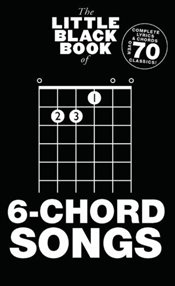 Little Black Book of 6-Chord Songs  -