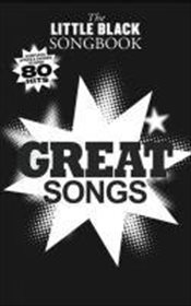Little Black Songbook Great Songs  -