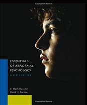 Essentials of Abnormal Psychology 7E - Barlow, David H.