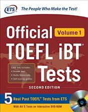 Official TOEFL iBT Tests Vol.I 2e : with DVD - ETS