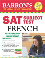 SAT Subject Test French 3e w/CD - White, Renee